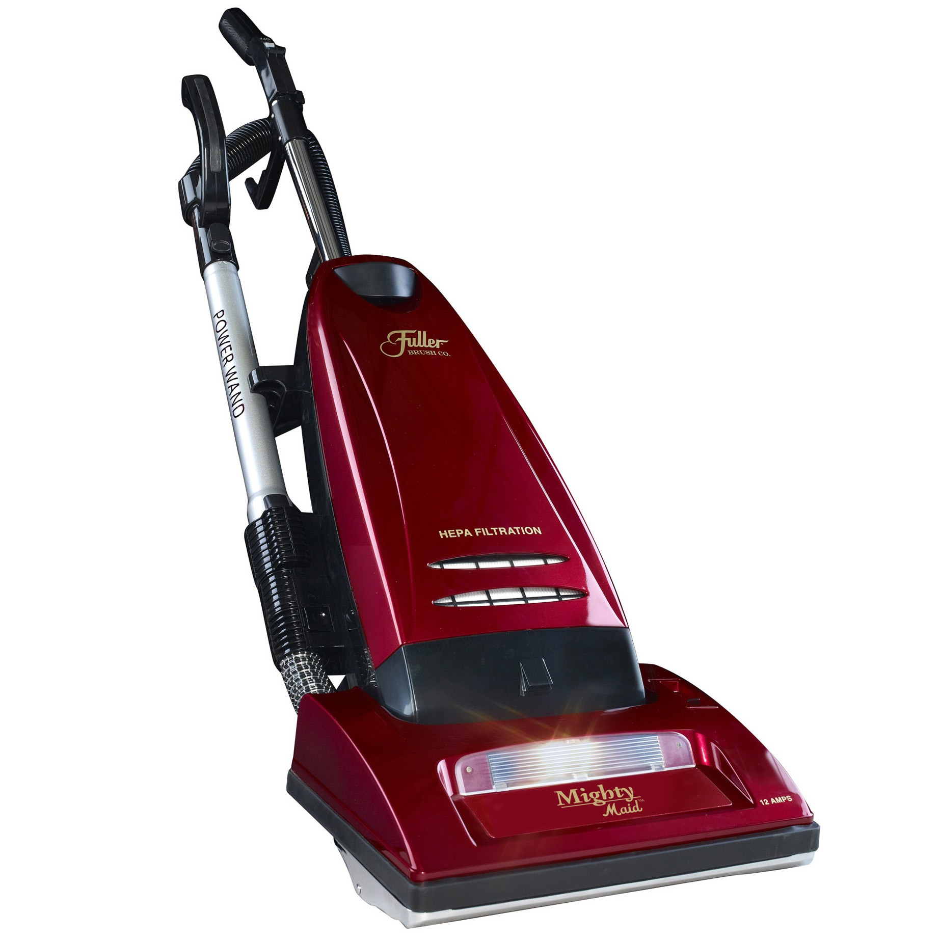Fuller Brush Mighty Maid Upright Vacuum with Carpet/Floor Selector